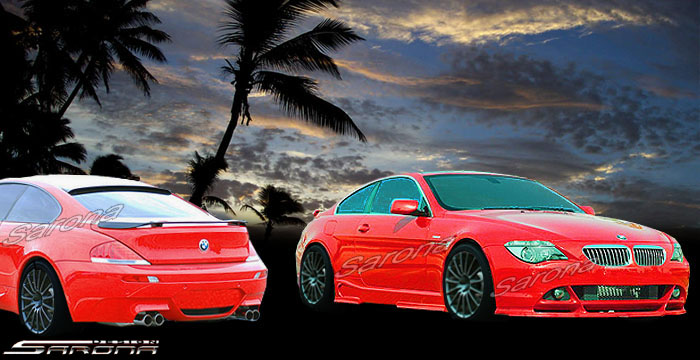 Custom BMW 6 Series Body Kit  Coupe & Convertible (2004 - 2010) - $1790.00 (Manufacturer Sarona, Part #BM-052-KT)